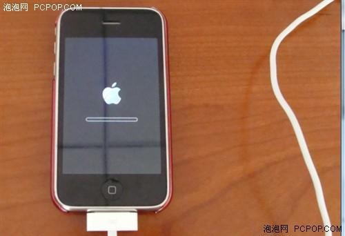 iphone4一直白苹果_恢复过程中iphone屏幕上会出现白苹果和进度条