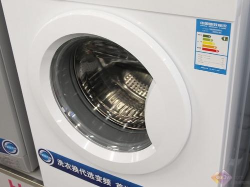 海尔 xqg50-807洗衣机 机身细节图片; 海尔xqg50-807舱门实拍; 海尔