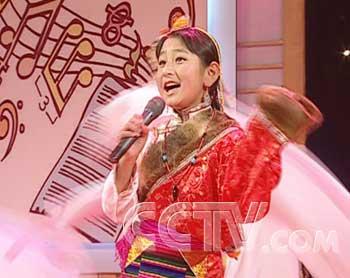 演唱自己民族的儿童歌曲