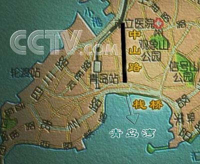 青岛栈桥八大关地图