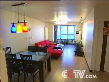 蓝队客厅装修前; 交换空间客厅效果图; cctv-时尚频道-交换空间