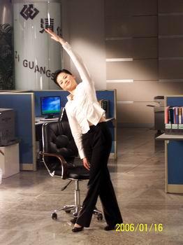 《运动空间》新节目介绍:《办公室健身法》