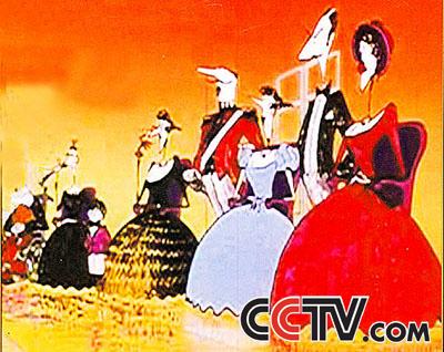 汉朝皇帝卡通图片